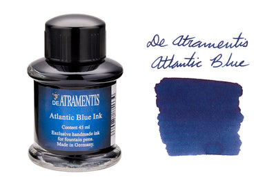 De Atramentis Atlantic Blue - 35ml Bottled Ink