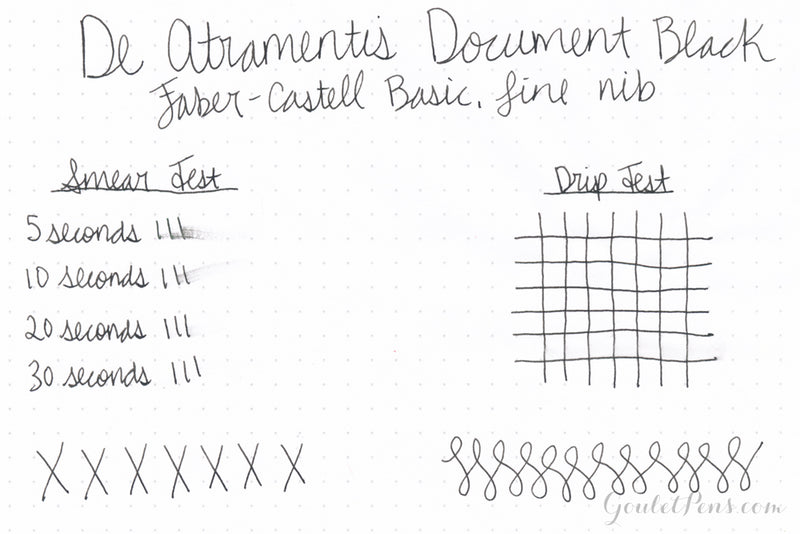 De Atramentis Document Ink Black - Ink Cartridges