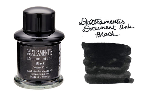 De Atramentis Document Ink Black - 35ml Bottled Ink