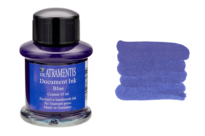 De Atramentis Document Ink Blue - 35ml Bottled Ink