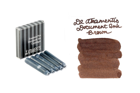 De Atramentis Document Ink Brown - Ink Cartridges