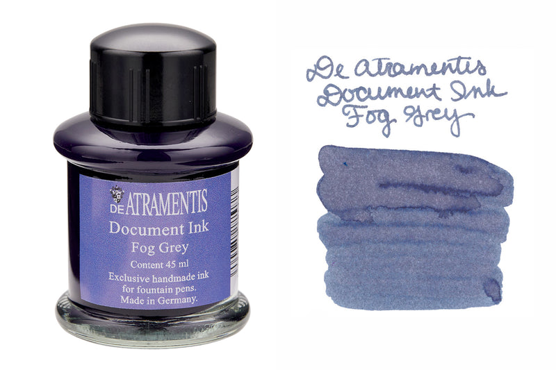 De Atramentis Document Ink Fog Grey - 35ml Bottled Ink