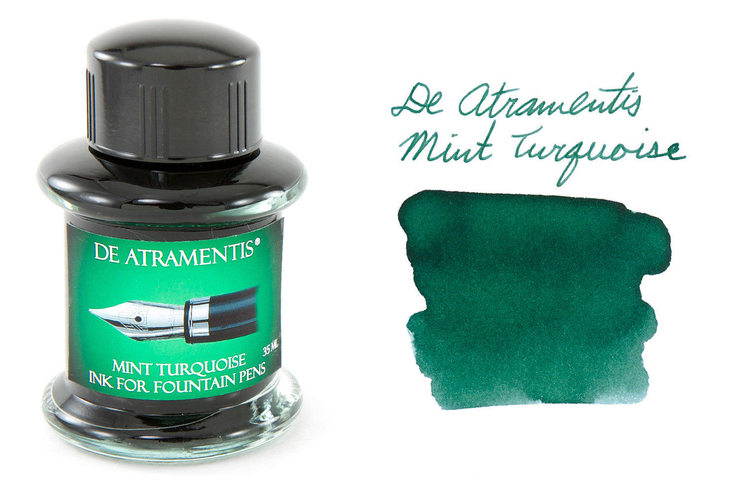 De Atramentis Mint Turquoise - 45ml Bottled Ink