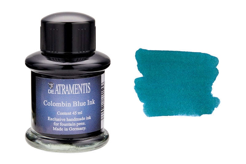 De Atramentis Pigeon Blue - 35ml Bottled Ink
