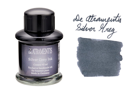 De Atramentis Silver Grey - 35ml Bottled Ink