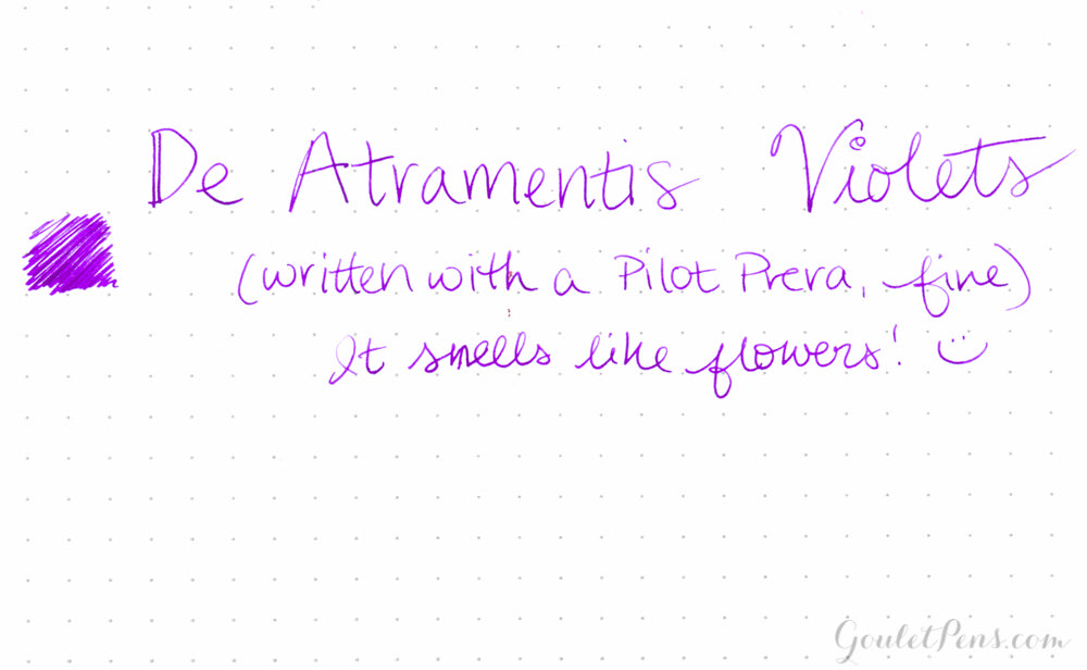 De Atramentis Violets - 45ml Scented Bottled Ink