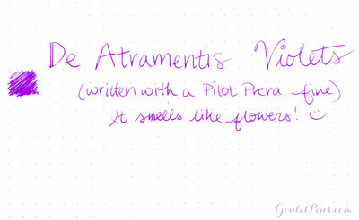 De Atramentis Violets - 35ml Bottled Ink