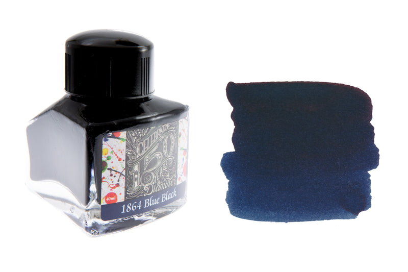 Diamine 1864 Blue Black - 40ml Bottled Ink