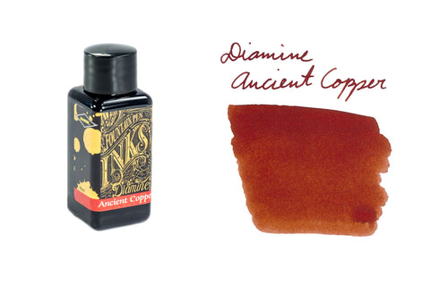 Diamine Ancient Copper - 30ml Bottled Ink
