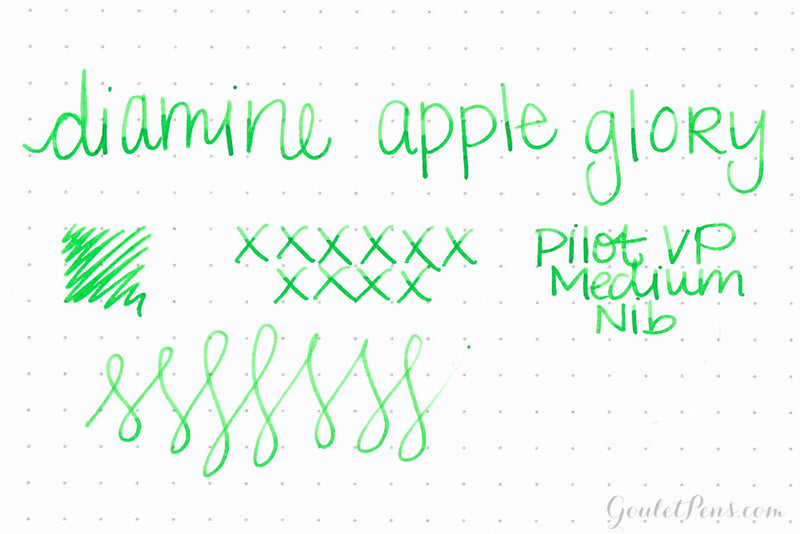 Diamine Apple Glory - Ink Sample