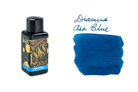 Diamine Asa Blue - 30ml Bottled Ink