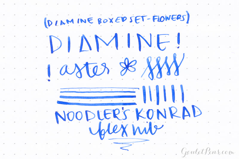 Diamine Boxed Set - Flowers