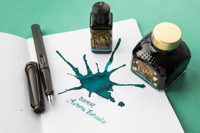 Diamine Aurora Borealis - 80ml Bottled Ink