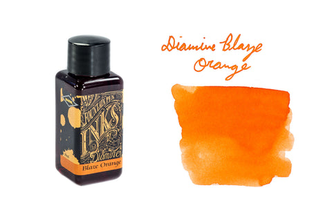 Diamine Blaze Orange - 30ml Bottled Ink
