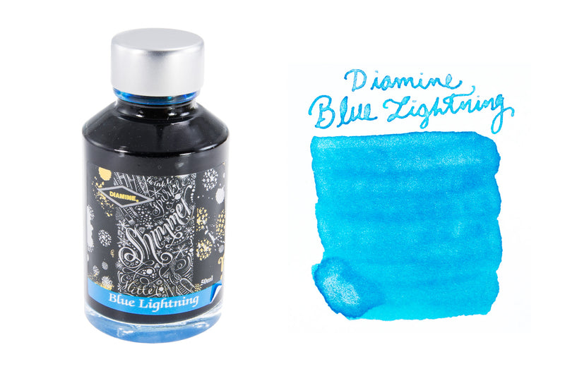 Diamine Blue Lightning - 50ml Bottled Ink
