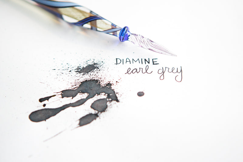 Diamine Earl Grey - Ink Sample