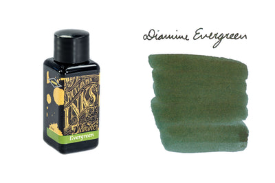 Diamine Evergreen - 30ml Bottled Ink