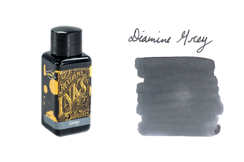 Diamine Grey - 30ml Bottled Ink