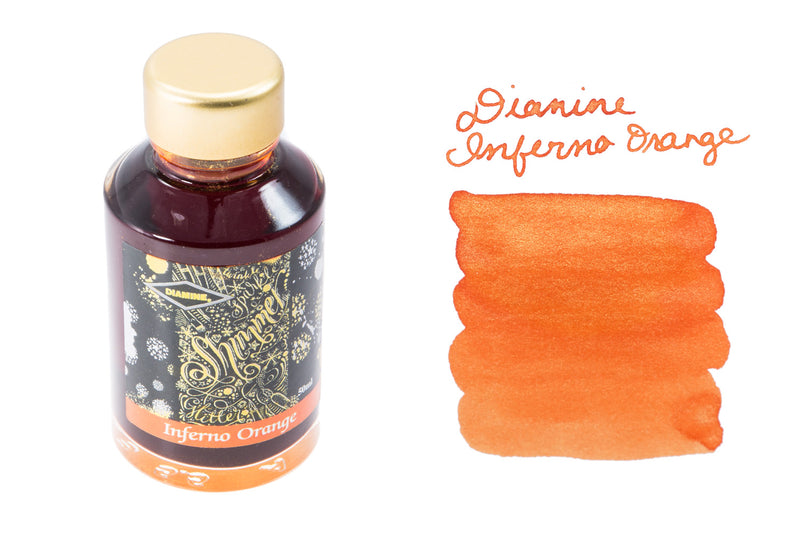 Diamine Inferno Orange - 50ml Bottled Ink
