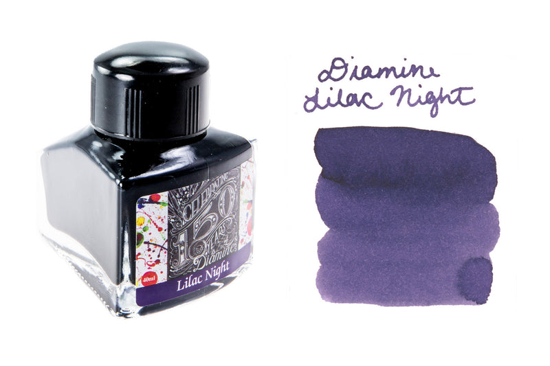 Diamine Lilac Night - 40ml Bottled Ink