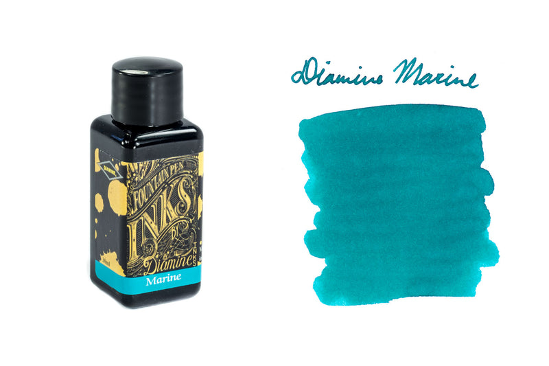 Diamine Marine - 30ml Bottled Ink