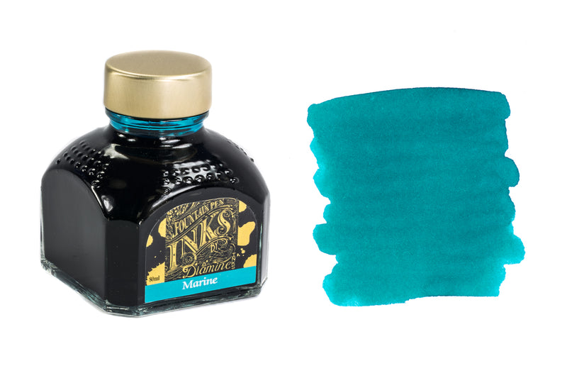 Diamine Marine - 80ml Bottled Ink