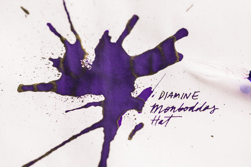 Diamine Monboddo's Hat - Ink Sample