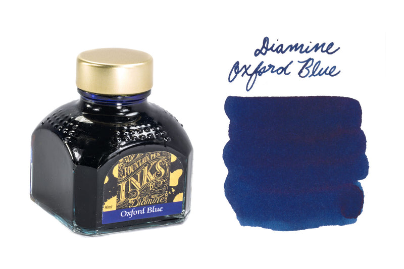 Diamine Oxford Blue - 80ml Bottled Ink