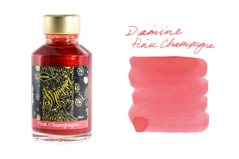 Diamine Pink Champagne - 50ml Bottled Ink