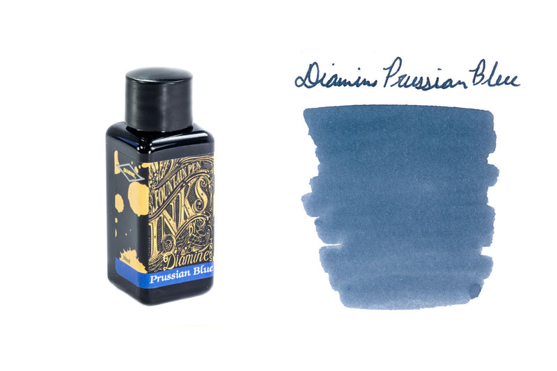 Diamine Prussian Blue - 30ml Bottled Ink