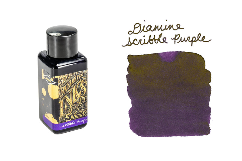 Diamine Scribble Purple - 30ml Bottled Ink