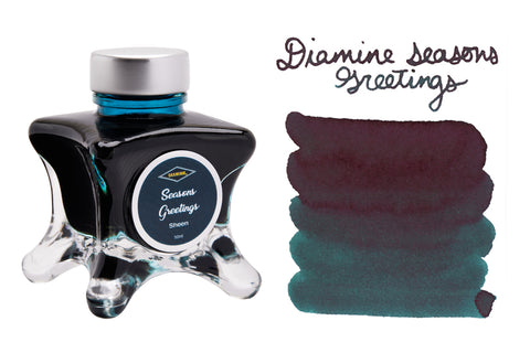 Diamine Seasons Greetings - 50ml Bottled Ink
