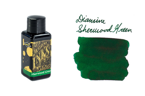 Diamine Sherwood Green - 30ml Bottled Ink