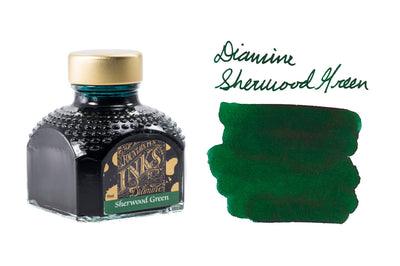 Diamine Sherwood Green - 80ml Bottled Ink