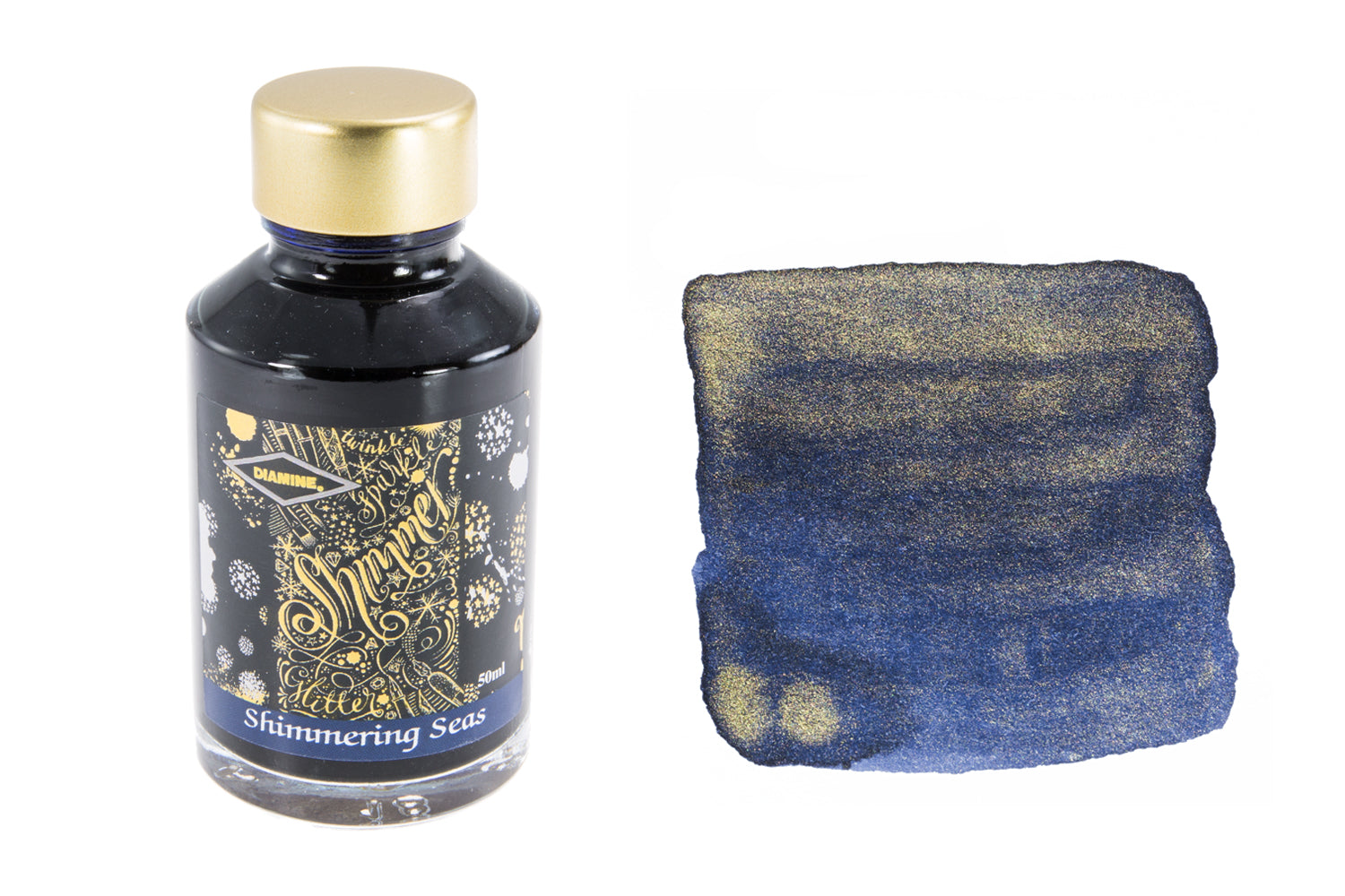 Diamine Shimmering Seas - 50ml Bottled Ink