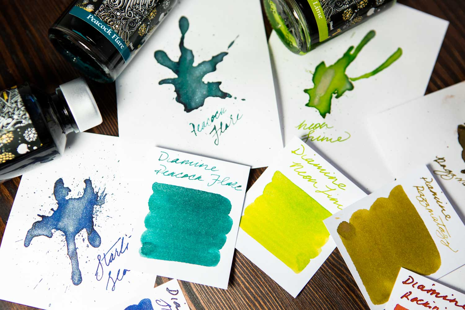 Diamine Starlit Sea - Ink Sample