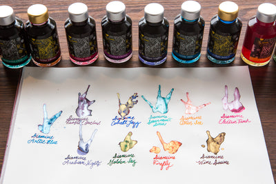 Diamine Frosted Orchid - Ink Sample