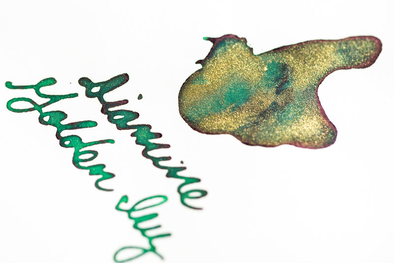 Diamine Golden Ivy - Ink Sample