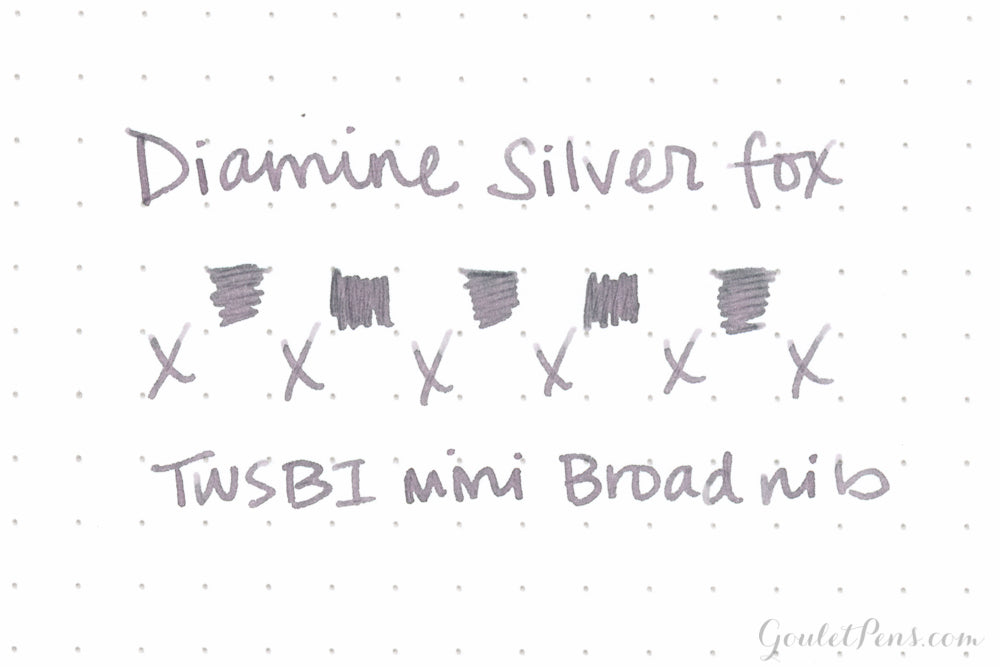 Diamine Silver Fox - 40ml Bottled Ink