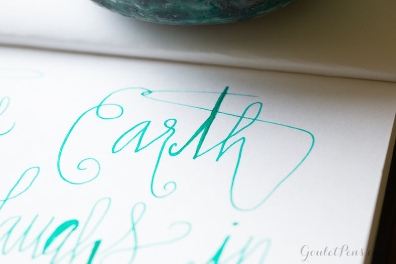 Diamine Soft Mint - Ink Sample