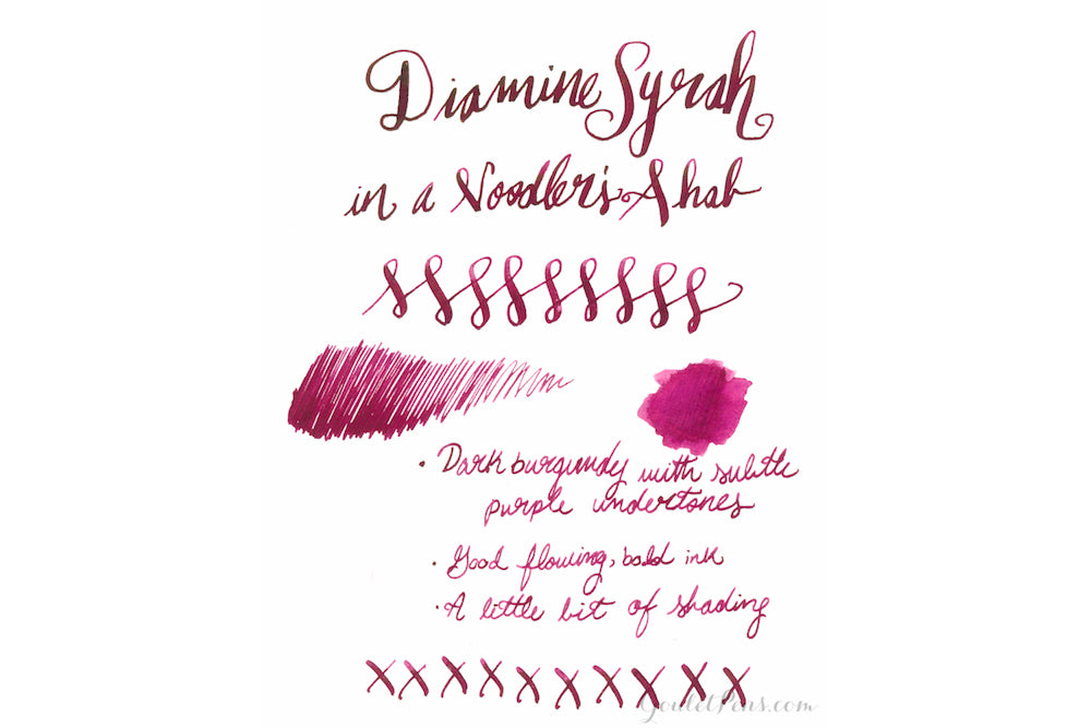 Diamine Syrah - Ink Cartridges