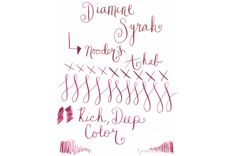 Diamine Syrah - 80ml Bottled Ink