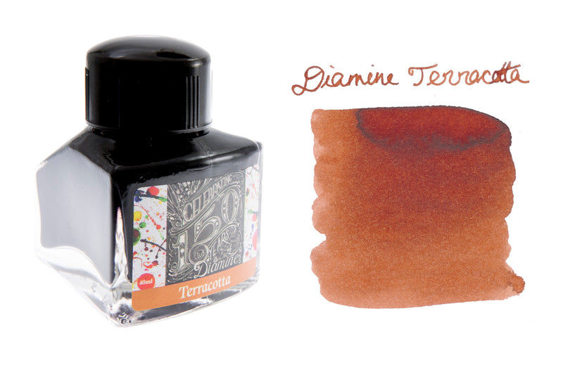 Diamine Terracotta - 40ml Bottled Ink