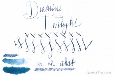 Diamine Twilight - Ink Sample