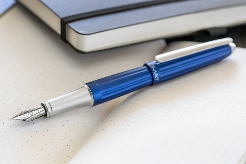 Diplomat Aero Fountain Pen - Blue