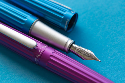 Diplomat Aero Fountain Pen - Violet