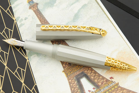 Diplomat Zepp Fountain Pen - Gold (Limited Edition)