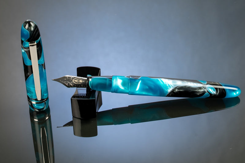 Edison Menlo Fountain Pen - Blue Grotto