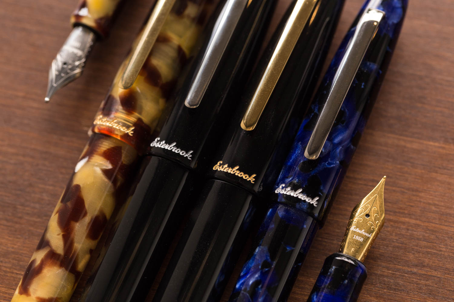 Esterbrook Estie Fountain Pen - Cobalt/Chrome
