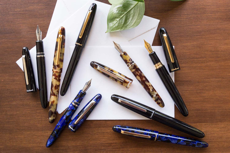 Esterbrook Estie Oversized Fountain Pen - Ebony/Chrome
